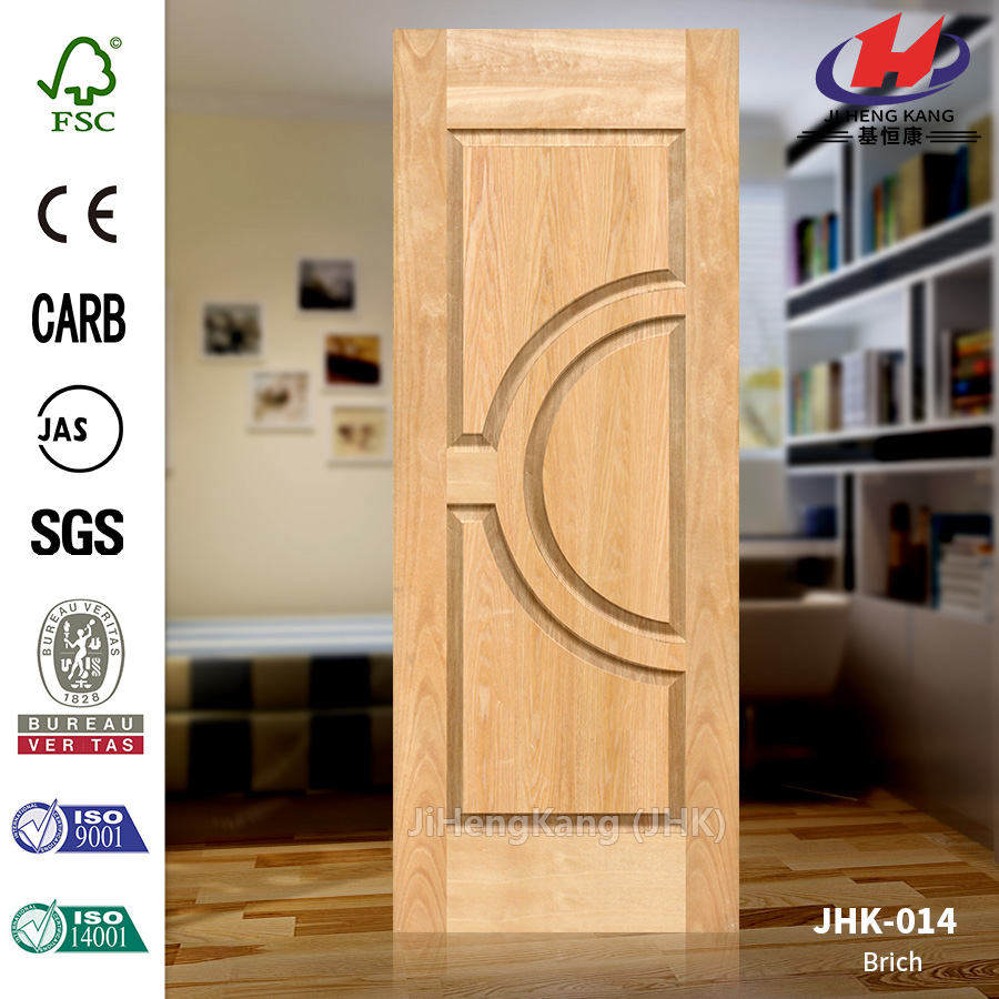 Molded Natural Birch Vener Door Skin