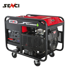 China supplier machine gasoline generator with battery