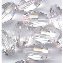 Perles de cristal transparentes