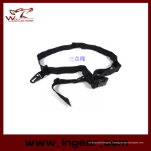 Sangle pour pistolet haute qualité en Nylon Double Point Gun Sling tactique Airsoft Gun corde 3 points