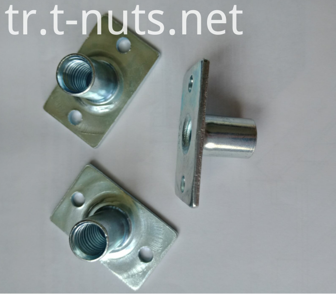 1/4-20 Square bottom stamping parts Tee nuts