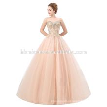 Vestido de noche formal grueso del último vestido del diseño moldeado para las mujeres