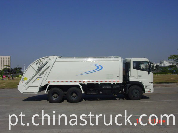 Dongfeng 6x4 compactor garbage truck