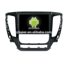Quad core! Android 6.0 car dvd for Mitsubishi L200 with 9 inch Capacitive Screen/ GPS/Mirror Link/DVR/TPMS/OBD2/WIFI/4G