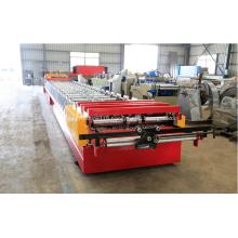 Steel floor plate roll deck making machine metal