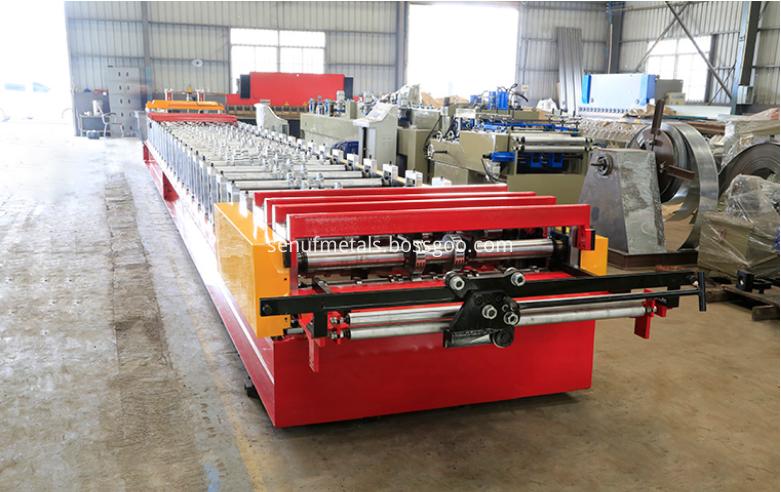 Floor deck forming machine 2