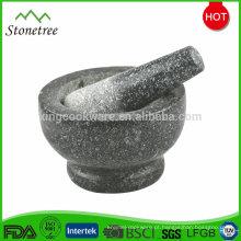 Ferramentas de cozinha em pedra espremedor de alho