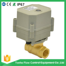 2-Way 230V Dn10 Mini Small Motorized Motorised Electric Control Ball Valve Wholesale