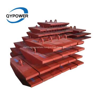 Ship Type Steel-Welded Earth Anchor