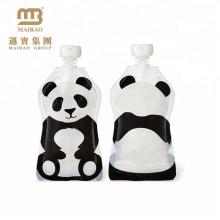 Chine Sac de poche jetable en plastique jetable clair réutilisable fait sur commande de bec d'eau en plastique pour des enfants buvant