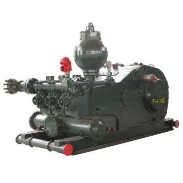 Pompe à boue (trois cylindres) pour l'exploration minière et de forage