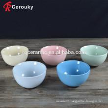 Beautiful design FDA SGS approved ceramic bowl