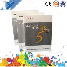 Última versão! ! 5.3 Versão Inkjet Printer Maintop Rip Software (Versão em Inglês)