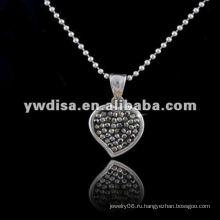 Ожерелье формы сердца горячего сбывания западного типа западное, красивейшее ожерелье & различные цветы для вашего выбирают