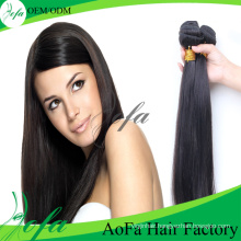 Wholesale 7A/8A Grade Mink Virgin Hair Remy Human Hair Weft