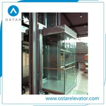 Commercial Full View and Outdoor Glass Panoramic Lift