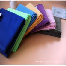 Custom microfiber suede sport towel, suede microfiber sports towel, microfiber gym suede towel OEM