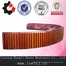Casting Ball Mill Ring Gear For Cement Kiln