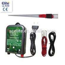 Eletrificador de cerca de proteção PV