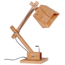 Antique Wooden Desk Lamp Handmade Wooden Lamps (LBMT-XG)
