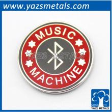 custom music bagdes/plate for members