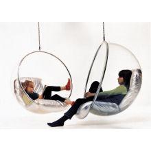 Acryl Bubble Chair und Schaukel Hängesessel