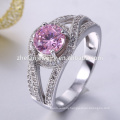 Best friend 925 silver white cz ring delicate ring