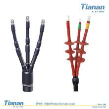 Terminaison du câble de rétraction à froid à haute tension / Terminaison du câble / Kit de terminaison extérieure