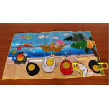 Переработке нетоксичных легко носить сплетенные PP Кемпинг Пляжный коврик