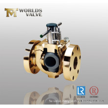 Aluminium Bronze Flanged Ball Valve