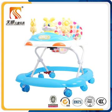 2016 Plastic Material Baby Walker Popular in China