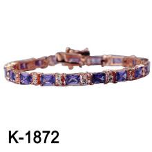 Späteste Art 925 silberne Armband-Art- und Weiseschmucksachen (K-1872, JPG)