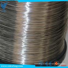 Fil à fil brillant en acier inoxydable ASTM 310S