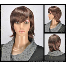 Peruca de cabelo sintético mais popular de moda (HQ-SW-S4)