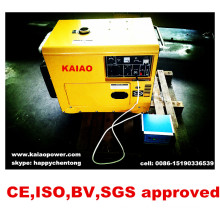 5kw Portable Silent Diesel Generator Sets Best Selling