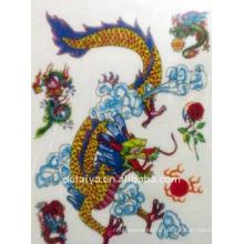 временные наклейки татуировки дракона