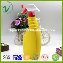 Promocional de alta calidad plana vacía HDPE 500ml botella de plástico líquido proveedor