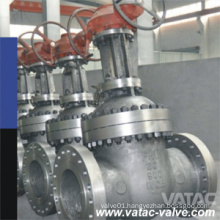 API 600 Flanged RF Wedge Gate Valve Supllier