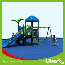China Factory Cheap Swing and Slides Aire de jeux extérieure pour les enfants d'âge préscolaire
