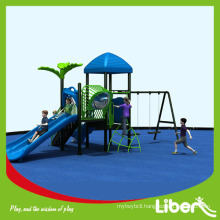 China Factory Cheap Swing and Slides Outdoor Playground for Preschool Kids