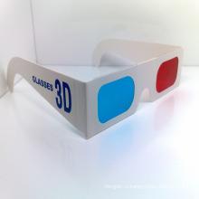 Горячая Продажа одноразовые Анаглифные 3D очки бумаги