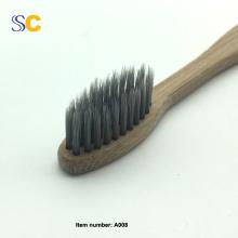 Neue Design 100% Bambuskohle Zahnbürste