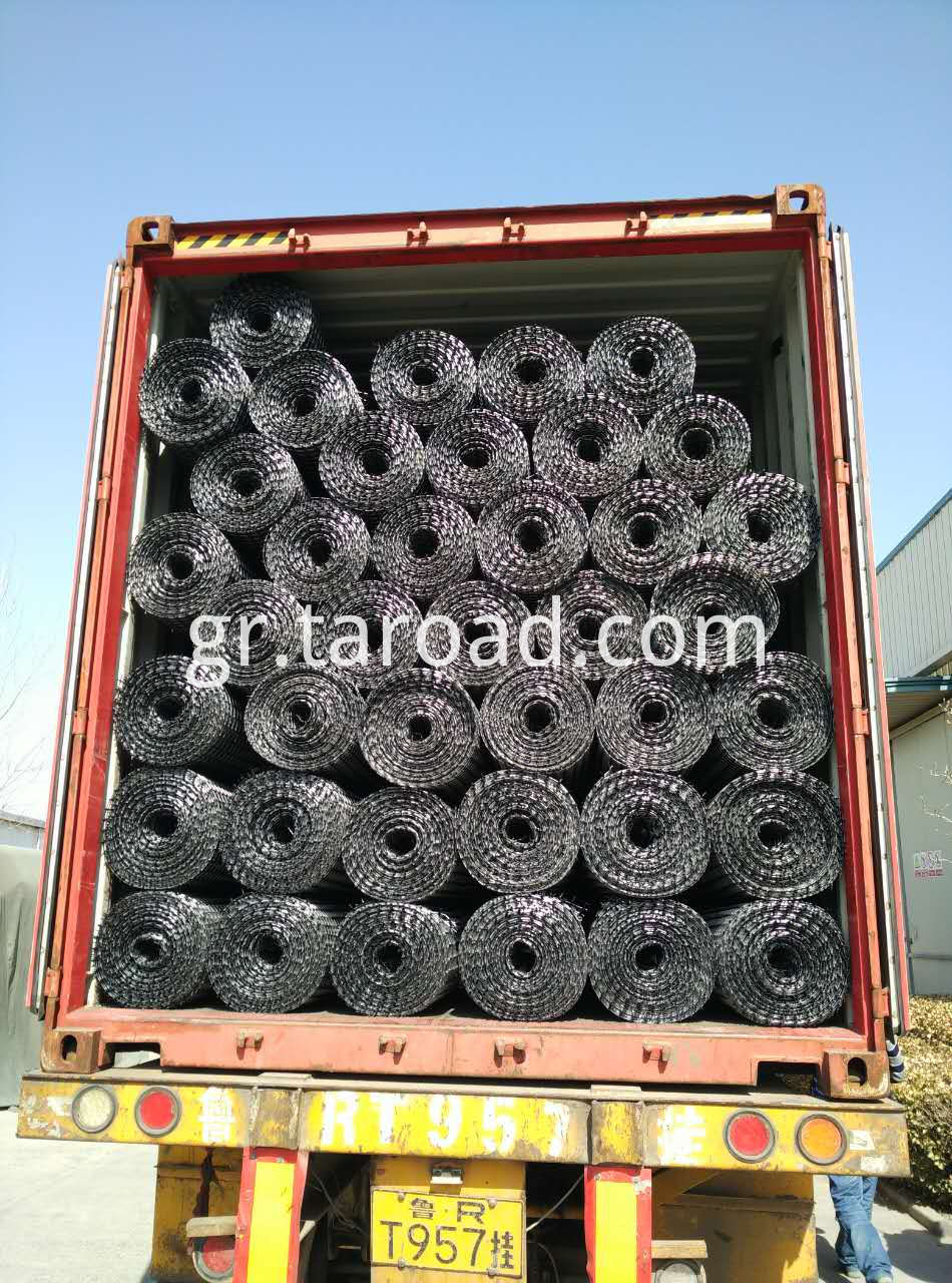 Soil reinforcement Biaxial PP geogrid