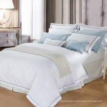 100% coton ou T / C 50/50 / Embroidery Hotel / Home Bed Linen (WS-2016182)