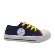 Zapatillas de lona en blanco para niños (X164-S & B)