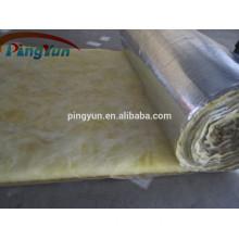 Excellent glass wool/fiber glass wool roll/glass wool blanket with Aluminium foil
