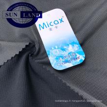T-shirt home Textile 50% polyester, 50% nylon, sensation de froideur