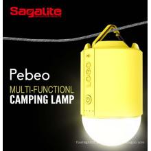 RGB Long duradoura melhor prazer recarregável LED Camping Light