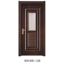 Faible qualité Excellente qualité Hotsale porte en mélamine (WX-ME-108)