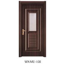 Preço baixo Excelente qualidade Porta de melamina Hotsale (WX-ME-108)